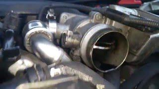 bmw 5 Series E60 520d Throttle Body Problem - Engine Off