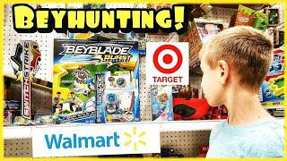 Beyblade Burst Toy Hunting at Target and Walmart - Beyhunting for Hasbro  Beylades