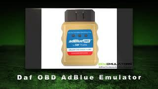 Daf OBD AdBlue removal, remove, emulator, bypass, software