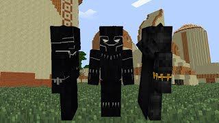 Black Panther Minecraft Mod(Superheroes Unlimited 6 0) Suit Showcase