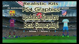 PES 2019 PSP(300MB) FULL GAME+PS4 GRAPHICS,CAMERA,REAL KITS,UPDATED  SQUADS,BEST GAMEPLAY+DOWNLOAD
