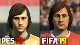 Скачать FIFA 19 ICONS vs PES 2019 LEGENDS | Player Face