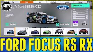 Forza Horizon 3 Blizzard Mountain How To Unlock Ken Blocks Ford Focus Rs Rx Part 4