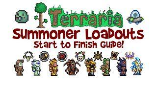 Terraria Summoner Loadout Guide (Weapons & Armor, Class Build, 1 2 4 & 1 3)