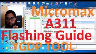 Micromax A311 Flashing Guide   Use of YGDP Tool in Hindi