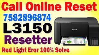 Epson L3150 Resetter Cracked With Keygen
