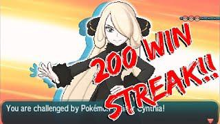 Pokemon Sun Moon 200 Win Streak Battle Tree