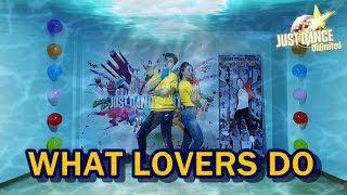 JUST DANCE UNLIMITED - WHAT LOVERS DO BY MAROON 5 FT  SZA | FULL GAMEPLAY