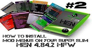 How To Install SPRX Menus on GTA5 HEN HFW PS3 SuperSlim and 3k models (2019)