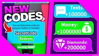 (NEW) ALL CODES FOR TEXTING SIMULATOR!!!