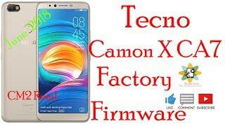 Tecno Camon X CA7 Factory Firmware 8 1 0 MT6763 Flash File CM2 Read Free