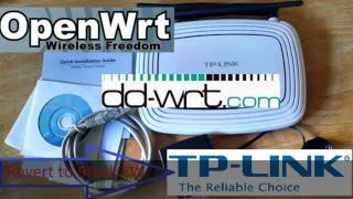 TL-WR841N V8 and above recovery unbrick debrick using TFTP server without  serial console
