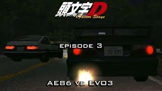 Initial D rFactor Stage 2 - AE86 vs EVO 3