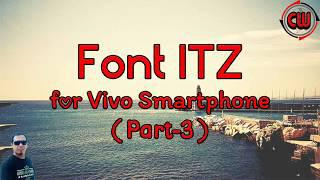 Font Vivo Format ITZ (Part-3)