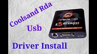 Coolsand usb driver for miracle box