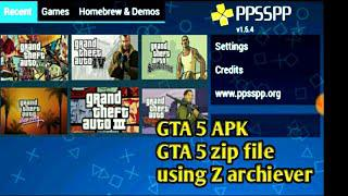 gta 5 ppsspp gold download apk