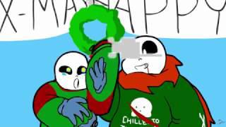 Undertale Christmas.Animation Undertale Christmas Feat Blueberry Carrot And Geno