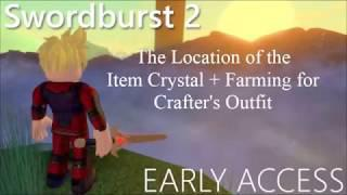 [Removed] Location of the Item Crystal + Farming for Crafters Outfit