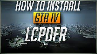 How to install LCPDFR for GTA IV Manual