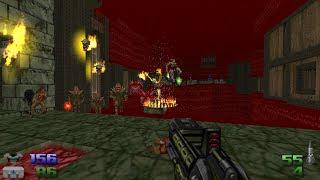 Hellbound + The Space Pirate for Doom 2 - Map 27: Crimson Abyss