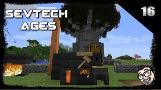Sevtech Ages Minecraft EP16 - Tinkers Construct Smeltery