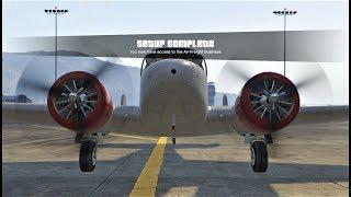 E194 Our Hangar 3497 Setup Walkthrough From Fort Zancudo! - Lets Play GTA 5  Online PC 60fps HD