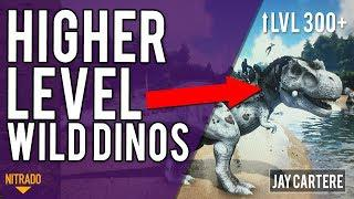 How To Get Higher Wild Dino Levels On Your ARK Nitrado Server - ARK PS4  Server Tutorial - UPDATED