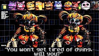 EXTRAS, VOICES & ALL JUMPSCARES - Ultimate Custom Night