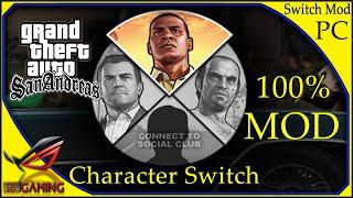 How to install Character Switch Mod in GTA San Andreas || PC || Hindi Urdu