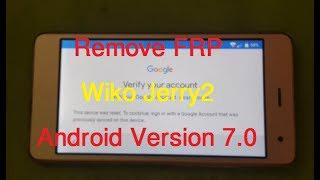 Remove FRP on WikoJerry 2 Android Version 7 0/2018 Wiko Jerry 2 google  account Bypass by NCK Dongle