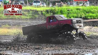 Mega Truck Ford   Side Money  Kickin Mud in the pit