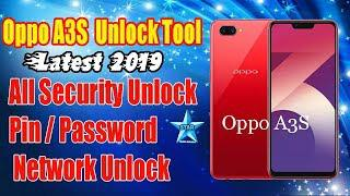 Oppo A3S Unlock Tool | OPPO A3s All Security Remove | Oppo A3S Pin/Password  Network Unlock