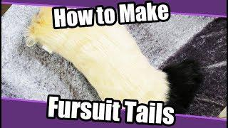 Skachat Tutorial 6 Tail For Fursuit Cosplay Pdf Pattern