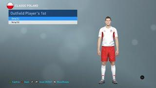 PES 2019 classic Poland kits (PC, PS4) WC 2002, retro and more