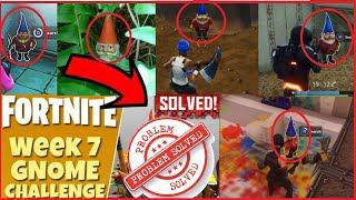 gnome fortnite all locations how to search hidden gnome location in fortnite week challenge - 7 gnomes fortnite