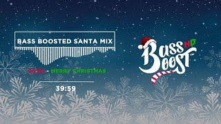 Christmas Trap Music.Bass Boosted Christmas Music Mix Trap Santa