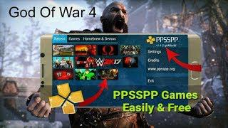 download game god of war 4 ppsspp android