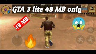 ||48MB|| How to download GTA 3 lite on Android with cheats