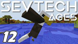 Minecraft Sevtech: Ages - EAGLE DANCE CEREMONY (Modded Survival) - Ep  12