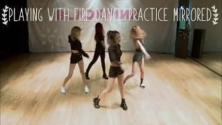 Blackpink Playing With Fire Dance Practice Mirrored Slowed