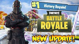 new winter update season 2 w new skins snowball launcher top player fortnite battle royale - season 2 trailer fortnite battle royale