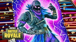 drawing fortnite battle royale raven new legendary skin how to draw raven lookfishart - fortnite how to draw skins