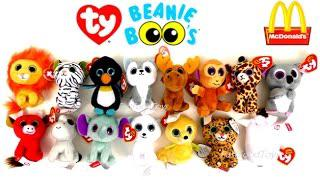 2017 McDONALDS TY TEENIE BEANIE BOOS HAPPY MEAL TOYS FULL SET 15 KIDS  COLLECTION UNBOXING WORLD US 5c9e06c44a6