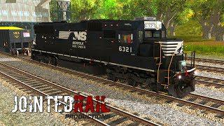 Trainz A New Era [ Jointed Rail Add-On ] - NS SD40E (PayWare)