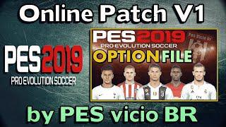 PES 2019 Online Patch (OF) V1 Install for PC and PS4 (by PESvicioBR) |  Correct kits and Logos