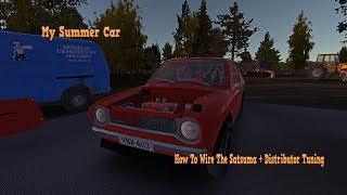 Skachat My Summer Car How To Wire The Satsuma Distributor Tuning
