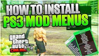 GTA 5 PS3 CFW- How to install a mod menu