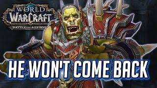 Saurfang Refuses to Return to Sylvanas Horde (WOW BFA - The Stormwind  Extraction)