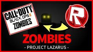 Roblox zombies project lazarus