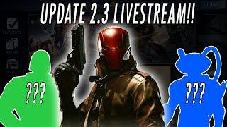 NEW UPDATE 2 3 1!!! NETHERREALM LIVESTREAM!! RED HOOD! NINJA ROBIN &  CATWOMAN INJUSTICE 2 MOBILE